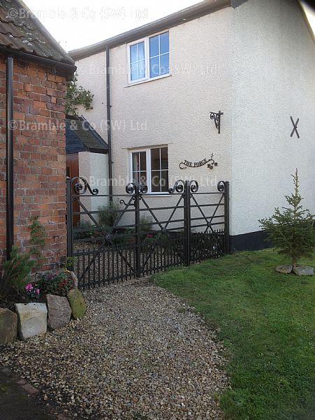 Estate Gates Trull Taunton